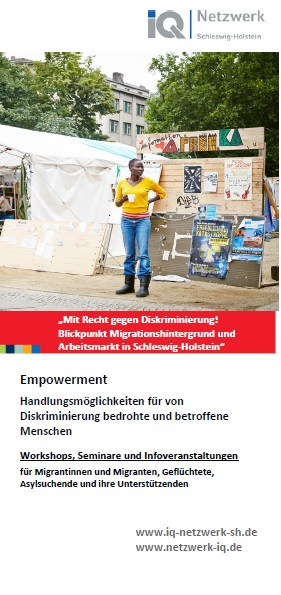 Titelbild Flyer Empowerment