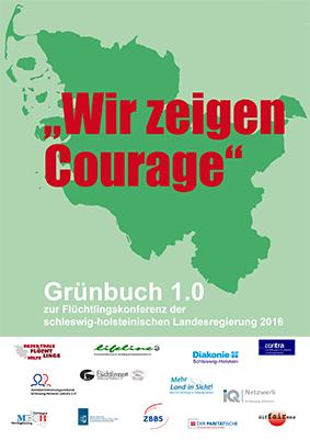 Grünbuch 1.0 – Wir zeigen Courage! advsh Teil der Autor*innengruppe
