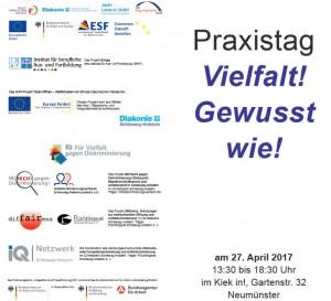 """Diskriminierung in Deutschland – Praxistag """"Vielfalt! Gewusst wie!"""""""
