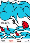 Kieler Woche 2018 – Informationsstand für Besucher*innen und Ehrenamtliche