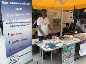 Infostand bei den Diversity Tagen der Christian-Albrechts-Universität zu Kiel